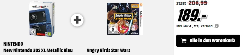 3DS + Angry birds